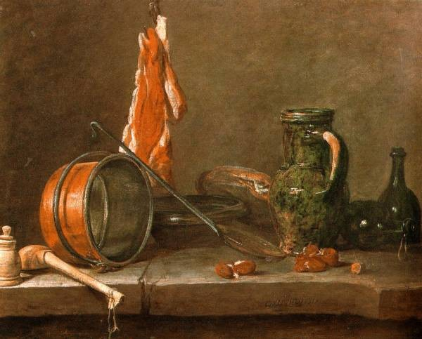 Chardin A Lean Diet with Cooking Utensils